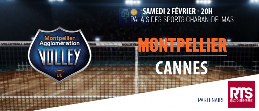 montpellier volley vs cannes | jeux rts